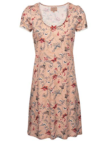 Vive Maria Doux Papillon Nachthemd Aprikot Allover, Größe:XS