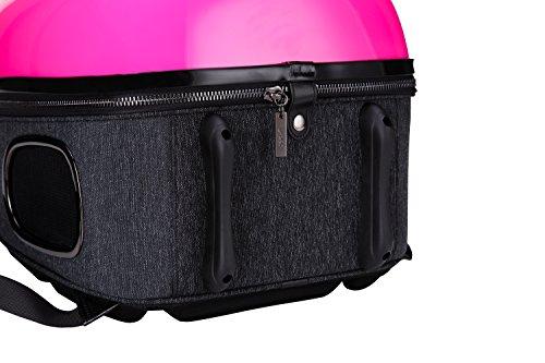 U-petペットキャリーバッグ宇宙船カプセルペットバッグ高品質多機能透明カバー通気カバー付き通気性抜群お出かけ便利旅行にも猫用犬用正規品3色セット
