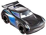 Cars Jackson Storm Track Talkers Coche de juguete con sonidos, juguete para niños +3 años (Mattel GTK87)