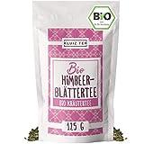 Himbeerblättertee Bio 125 Gramm - Himbeerblättertee Schwangerschaft zur Geburtsvorbereitung I 100% natürlich aus Biologischem Anbau by KLUIZ TEA