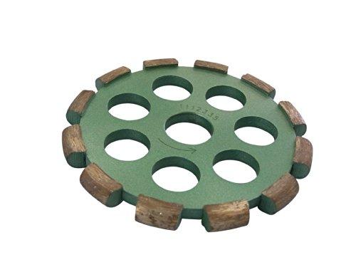 アイウッド ダイヤモンド溝入れカッター NEW U字型 外径105mmx内径20(15)mm