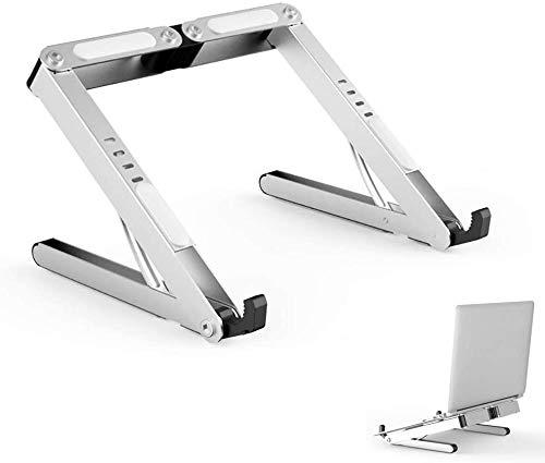 FFLSDR Laptop Stand Vertical LaptopLaptop Holder Portable, Foldable Desktop Notebook Holder Mount, Adjustable Eye-Level Ergonomic Design, Ventilated Desktop Stand, for Laptop PC Tablet