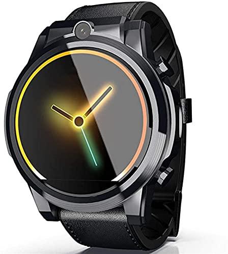 TCHENG 4G Men Smart Watch 1.6Inch Mostrar cámara Doble 3GB + 32 GB de videollamada para Android 7.1 BT Global Band Scan Watch