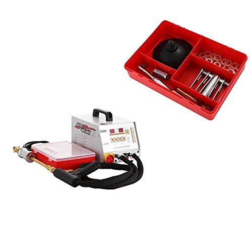 BuoQua Spotter KFZ GYS2700 Punktschweißgerät 60 Hz 3500A Ausbeulspotter 9 Modi Verfügbar Spotter Pistole Karosseriearbeit