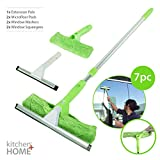 Super Squeegee Window Washer - The Original 3 in 1 Professional Window Squeegee