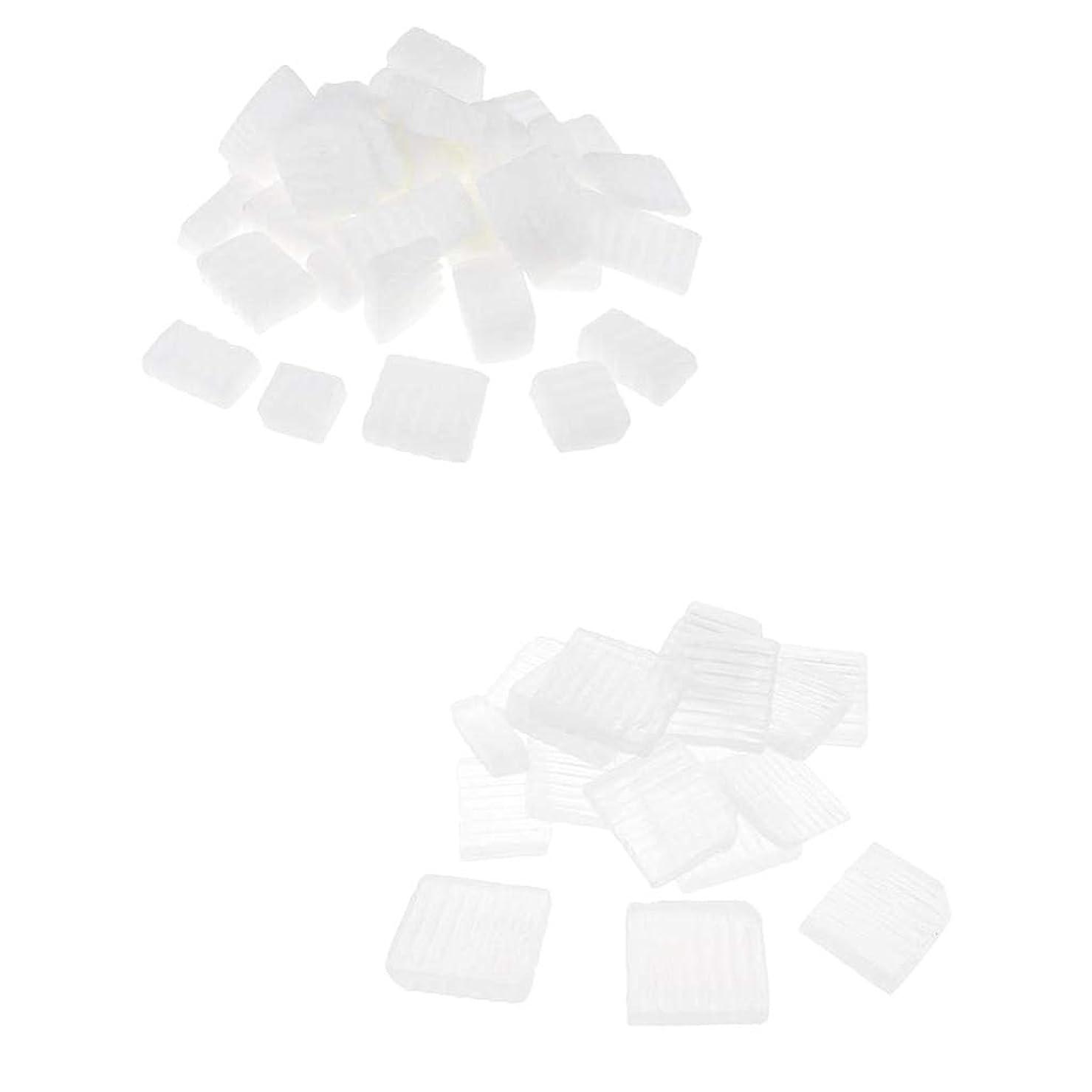 サイトライン亜熱帯宣言Perfeclan 固形せっけん ホワイト透明 手芸 バス用品 手作り ハンドメイド 石鹸製造 安全健康 2種混合
