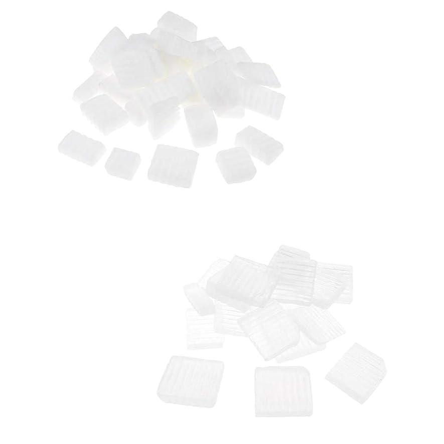 フィヨルド悪意のある大きさPerfeclan 固形せっけん ホワイト透明 手芸 バス用品 手作り ハンドメイド 石鹸製造 安全健康 2種混合