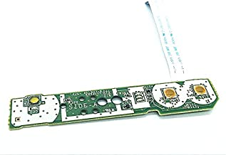 For WII U Console Power Switch Board HOME Button Mainboard With Ribbon Cable Replacement Repair Parts Power Eject PCB