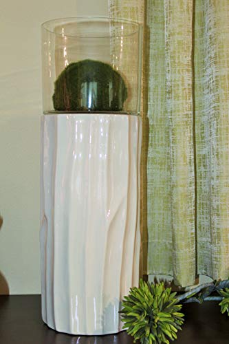 Tiziano Windlicht Bellini Tersa Perla (40cm)