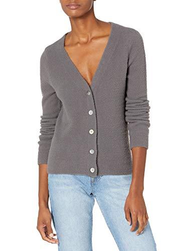 The Drop Women's Francine V-Neck Button Front Cozy Cardigan