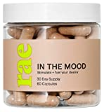 Rae in The Mood Capsules - Sexual Health and Wellness Support for Women with Ginseng, Maca, and L-Arginine - 30 Day Supply