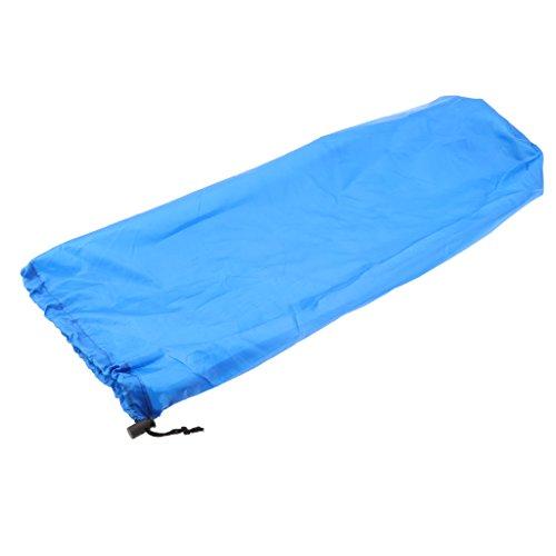 Almencla Bolsa de Almacenamiento de Colchoneta para Dormir con Cordón Ultraligero Y Grande - Azul