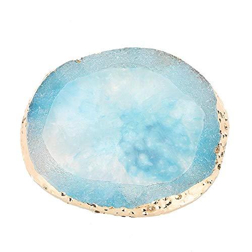 Palette de mélange Professional Nail Swatches Foundation Pigments for Lipsticks(blue)
