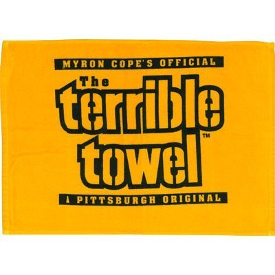 Steelers TERRIBLE TOWEL - YELLOW by Gift House