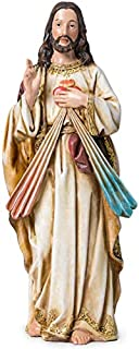 JoyStar Crafts Sacred Heart of Jesus Christ Statue,God's Divine Mercy Resin Figurine,10 Inch