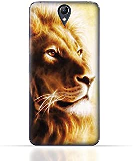 Lenovo Vibe S1 Lite TPU Silicone Case with Lion Portrait Air Brush Pattern