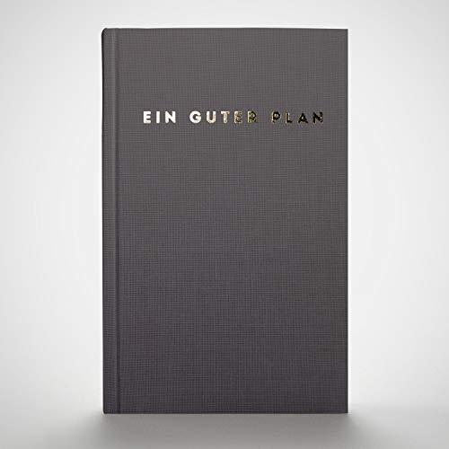 Ein guter Plan Zeitlos   Ganzheitlicher undatierter Terminkalender für mehr Achtsamkeit und Selbstliebe   A5 Planer(Anthrazit)