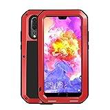 Étui pour téléphone portable Couverture de pare-chocs anti-choque Case en métal Case FIT For...