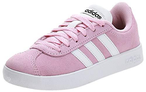 Adidas Vl Court 2.0 K, Zapatillas de deporte Unisex niños, Multicolor (Rosaut/Ftwbla/Negbás 000), 35 EU