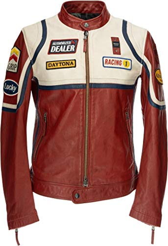 Blauer USA Anderson Giacca in pelle Rot