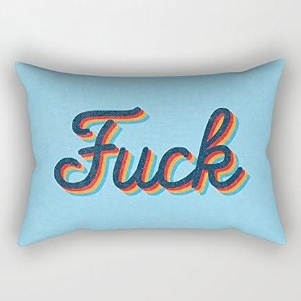 apnzll Fuck Decoration Pillow Case Cushion Cover 18 inch