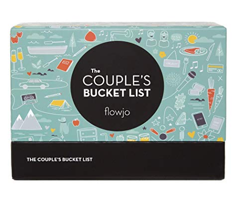 100 Date Night Idea Cards - The Couple's Bucket List: Games for Couples for Her or Him- Cute Unique Funny Gifts for Wife or Girlfriend - Best Wedding & Bridal Shower Gifts!