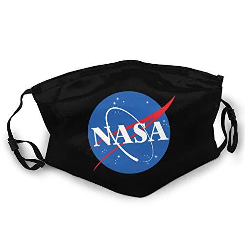 NASA Insignia Logo Flag Unisex Outdoor Dust Cloth Mouth Mask Reusable Face...