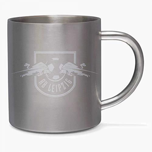RB Leipzig Tasse - Edelstahl - RBL Kaffeebecher, Mug (L)