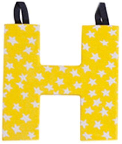 JoJo Maman Bébé - Lettre H en Tissu Couleur Primaire