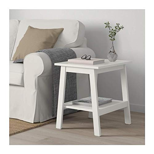 IKEA Lunnarp Side Table White Size 21 5/8x17 3/4' 703.990.20