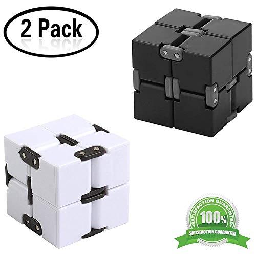 Fidget Magie Blocs Infinity Cube Puzzle Flip Cube Ball Anti Anxiété Soulage Le Soulagement Du Stress Temps Killer Main Wrist Twister Jouets Pour Add