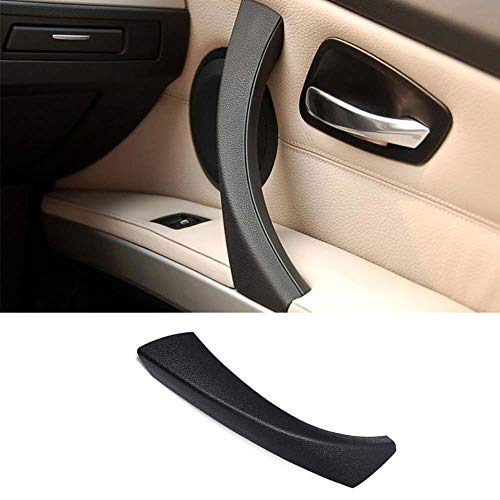 TTCR-II Door Handle Outer Covers Compatible with BMW 3 Series E90 E91 Black Right Front/Rear Interior Passenger Side Door Handle Outer Trim Fits: 323 325 328 330 335 Sedan & Touring (2005-2011)?-