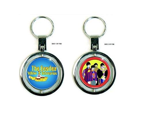 The Beatles Llavero Keychain Amarillo Submarine nuevo Oficial metal sp
