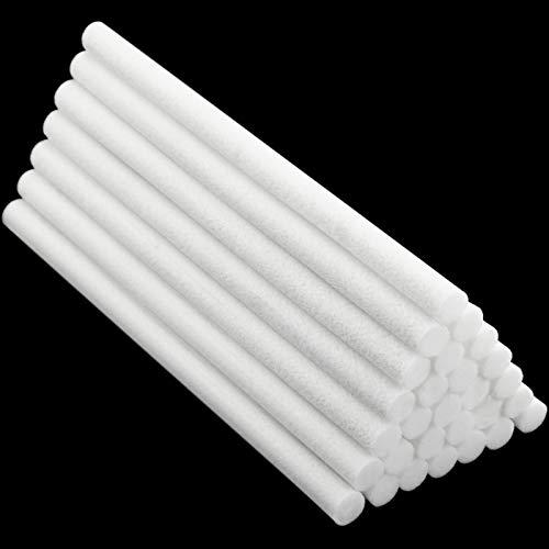 40 Piezas Varillas de Humidificador Repuestos de Palos de Mechas de Filtro de Algodón para Humidificador Portátil Personal con Alimentación USB en Oficina Hogar Dormitorio, 5,3 Pulgadas
