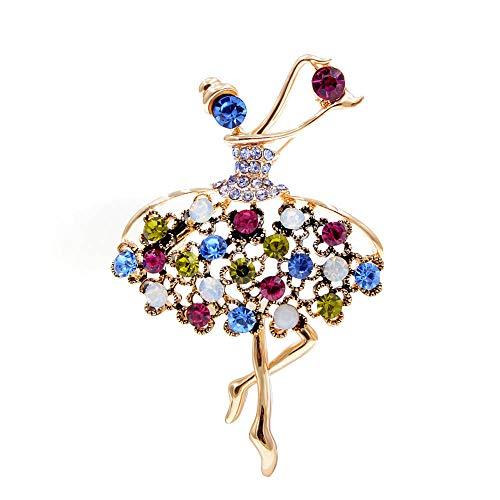 GLKHM Broche De Mariposa Broches Creativos para Bailarinas, Accesorios para Alfileres para Mujeres