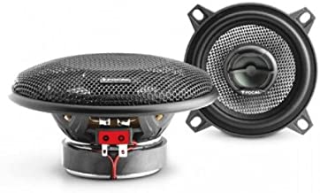 Focal 100AC Access Series 10cm 4 inches Coaxial Car Audio Speakers Grilles Included by Focal
