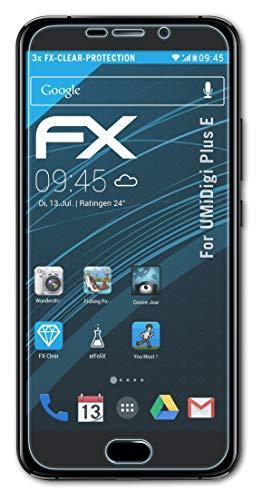 atFolix Schutzfolie kompatibel mit UMiDigi Plus E Folie, ultraklare FX Bildschirmschutzfolie (3X)