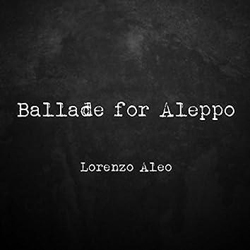 Ballade for Aleppo