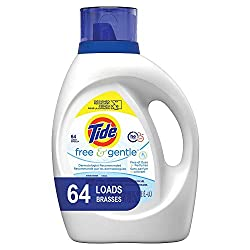 Tide free and gentle is the best product I have found