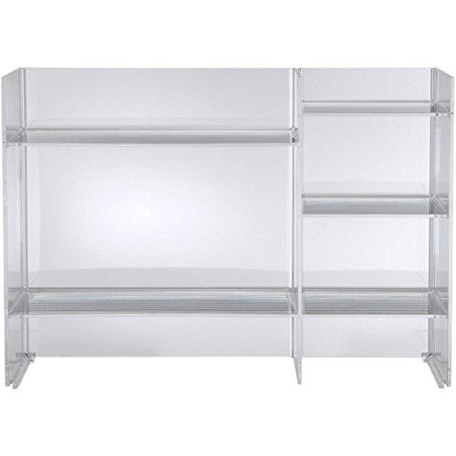 Kartell Sound-Rack Rellanos, Transparente (Crystal), 75x53x32 cm