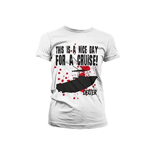 Dexter - This Is A Nice Day For A Cruise dames T-shirt wit - Televisie merchandise
