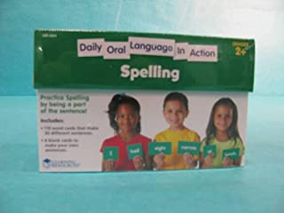 Learning Resources Daily Oral Language In Action Spell