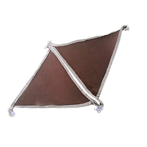 STOBOK 2 Piezas de Hamaca de Tela de Lagartija Tumbona de Malla Transpirable para Mascotas con Ventosas para Culebras de Geco Iguanas de Dragón Barbudas