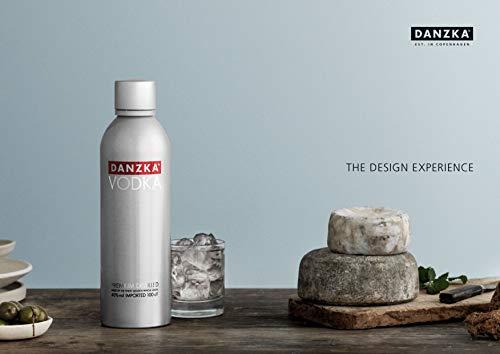 Danzka | Original | Premium - Wodka | 1 x 700ml | Aluminiumflasche | Skandinavisches Design | Copenhagen - 2