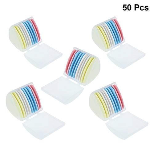 Exceart 50 Stks Naaien Krijt Kleermakers Uitwisbare Krijt Driehoek Kleermakers Stof Marker Voor Maatwerk Naaien Quilten Crafting Begrippen Stof Markering (Kleurrijke)