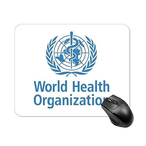 世界保健機関マウスパッド ゲーミング オフィス最適 高級感 おしゃれ耐久性が良 付着力が強い20x25x0.3cm