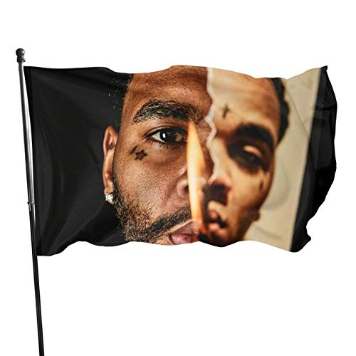 Liyuppdan Kevin Gates Flag 3x5 Ft Banners Uv Resistant Fading Durable Welcome Holiday Decoration