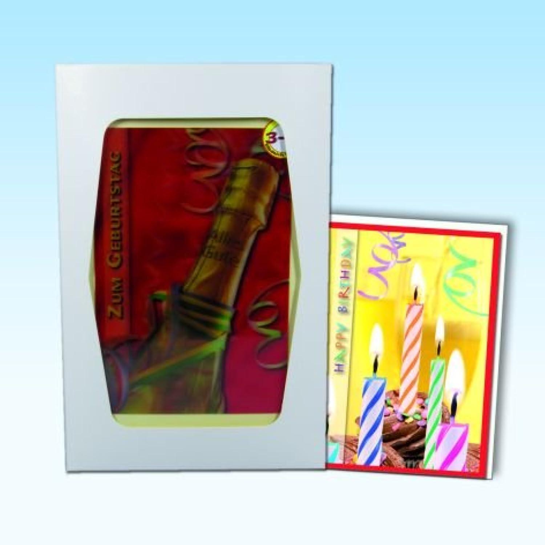 Karte Geburtstag Box mit 36 3D Karten 6 Stück mal 6 Motive Klappkarten mit Umschlag B008HOFGEG  | New Style