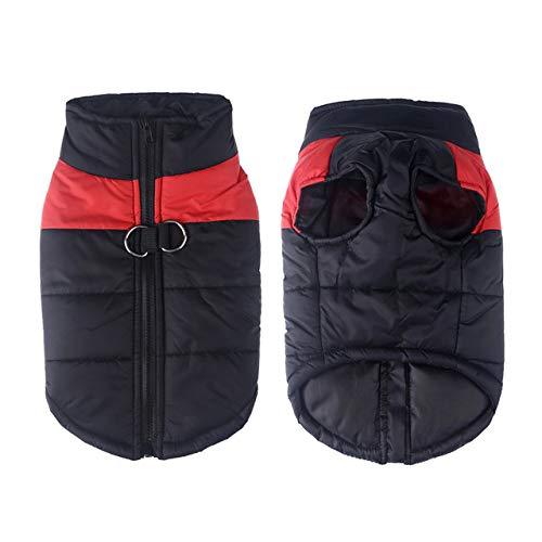 MYYXGS Big Dog Clothes Winter Warm Pet Vest Coat Waterproof Dog Coat Big Dog Bulldog Golden Retriever Labrador