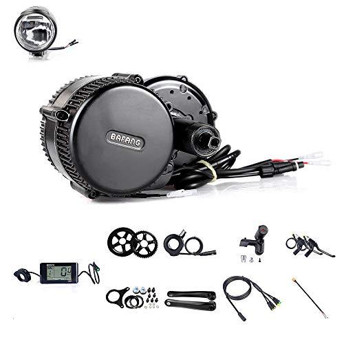 Kit di conversione per bicicletta elettrica con motore Bafang BBS01B da 350W 36V, sistema di guida a motore elettrico Bafang, C961, 44T